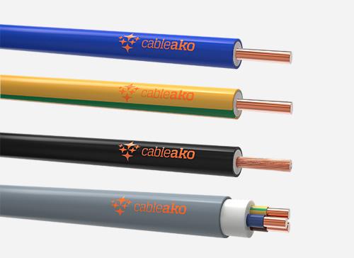 Bakır İletkenli Halogen Free Alçak Gerilim Kabloları