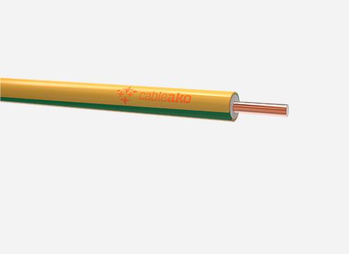 HO7V-U 450/750 V (NYA)